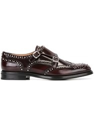 Church's 'Lana' Studded Loafers Brown