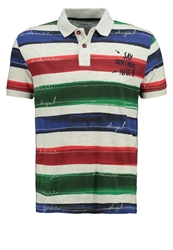 Desigual Polo Shirt Rot Red