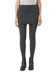 Allsaints Raffi Leggings Charcoal Grey