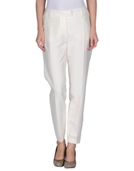 Paul And Joe Casual Pants Ivory