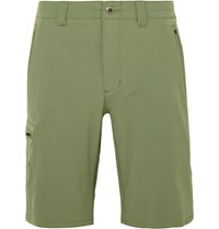 Patagonia Tribune Four Way Stretch Shorts Sage Green