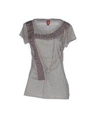 Dondup Topwear T Shirts Women Light Grey