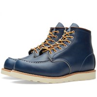 Red Wing Shoes Red Wing 8882 Heritage Work 6' Moc Toe Boot Indigo Portage