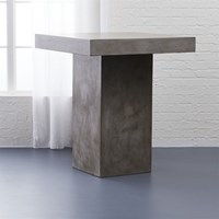 Cb2 Fuze Grey Counter Table