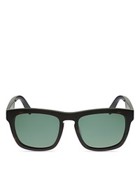 Salvatore Ferragamo Wayfarer Keyhole Bridge Sunglasses