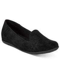 Bare Traps Alyson Hidden Wedge Flats Women's Shoes Black