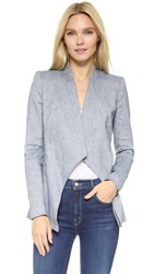 Alice Olivia Allison Blazer Denim Blue