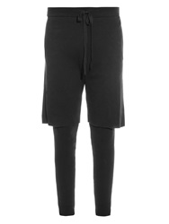 Baja East Layered Cotton Trousers