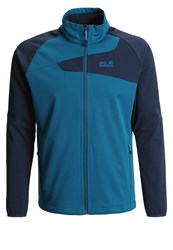 Jack Wolfskin Charge Soft Shell Jacket Moroccan Blue