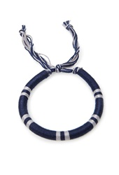 Forever 21 Thread Wrapped Bracelet Navy