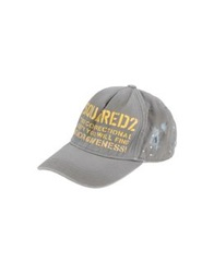 Dsquared2 Hats Military Green