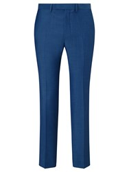 John Lewis Kin By Slim Fit Stamford Tonic Suit Trousers Steel Blue