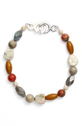 Simon Sebbag Women's Semiprecious Stone Collar Necklace
