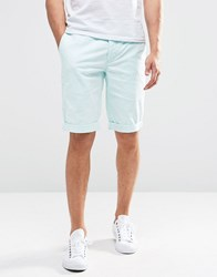 Minimum Chino Shorts In Aqua Bleached Aqua Green