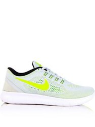 Nike Free Rn Running Shoes Platinum