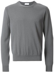 Christophe Lemaire Crew Neck Jumper Grey