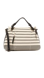 Splendid Monterey Satchel Black Stripe
