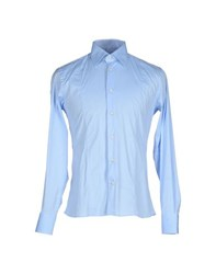 Del Siena Shirts Shirts Men Sky Blue