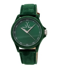 Toywatch Sartorial Washed Leather Watch Green