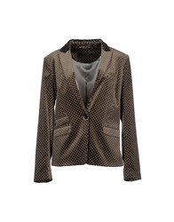 Set Suits And Jackets Blazers Women Grey