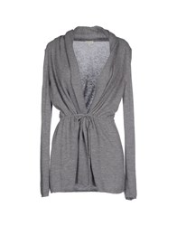 Henry Cotton's Knitwear Cardigans Women Grey