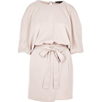 River Island Womens Light Pink Cold Shoulder Romper