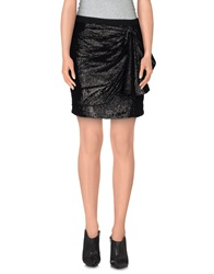 Silvian Heach Mini Skirts Black