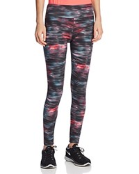 Balance Graphic Print Leggings Compare At 52 Speed Star Pink Glow
