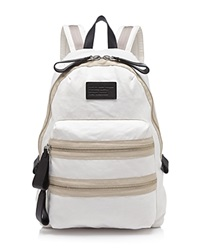 Marc By Marc Jacobs Backpack Domo Arigato Classic Cotton Talc White