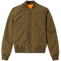 Aspesi Bomber Jacket Green