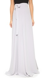 Joanna August Lilly Panel Wrap Maxi Skirt Silver Bells
