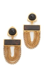 Lizzie Fortunato Sundown Earrings Gold Multi