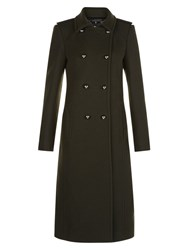 Hobbs Marietta Military Coat Dark Fern Green