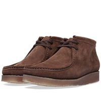 Padmore And Barnes P404 The Original Boot Brown Suede