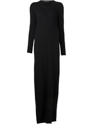 Area Di Barbara Bologna Back Tube Dress Black