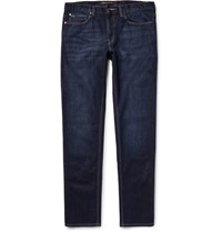 Michael Kors Slim Fit Stretch Denim Jeans Dark Denim