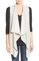 Women's Splendid Open Front Knit Vest