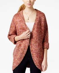 Maison Jules Marled Coccoon Cardigan Only At Macy's