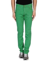 Jeckerson Denim Pants Green