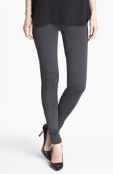 Vince Scrunched Ankle Leggings Charcoal