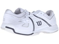 Wilson Nvision White Gray Coal Men's Tennis Shoes