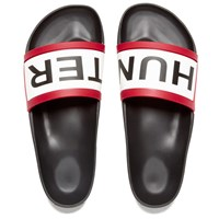 Hunter Men's Original Slide Sandals Black