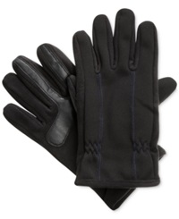 Isotoner Signature Thermaflex Smartouch Tech Stretch Gloves Blue