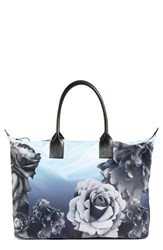 Ted Baker London 'Mono Rose' Floral Tote