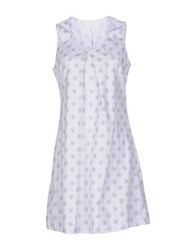 Aglini Dresses Short Dresses Women Sky Blue