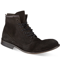Hudson Railton Laced Up Boots Black