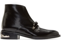 Toga Pulla Black Bow Ankle Boots