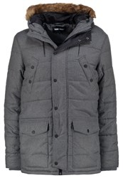 Your Turn Parka Grey Mix Mottled Grey