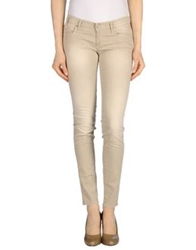 Take Two Denim Pants Beige