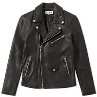Vanquish Double Breasted Rider's Jacket Black